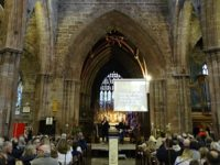 Crib service in Nantwich attracts thousands of visitors