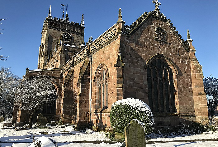 St Marys Acton in the snow (Mon11-12-17) (1)