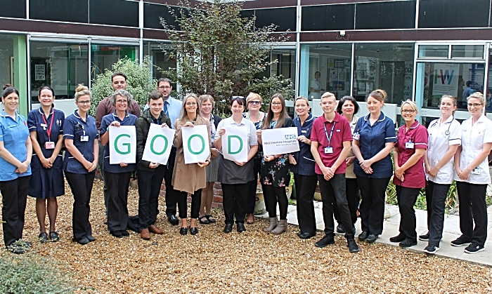 Staff Celebrate CQC 'Good' Rating (1)