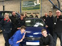 Car Transplants helps motor vehicle students at Reaseheath College