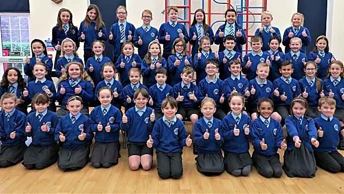 Stapeley Broad Lane School Choir 2019 (1)