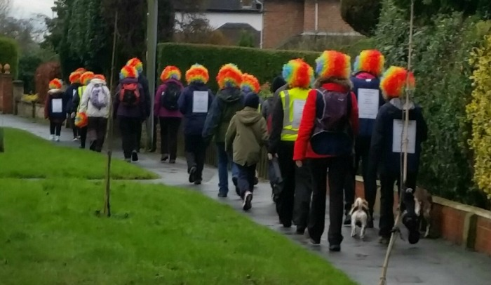 Stapeley Grange RSPCA walkers