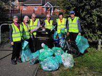 Stapeley Litter Group appeal for new members to clean up area