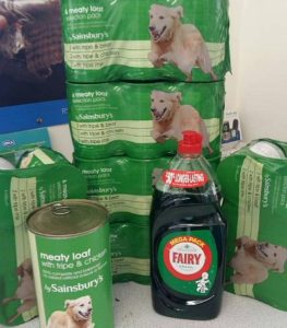 Baby birds appeal - Stapeley RSPCA food donations