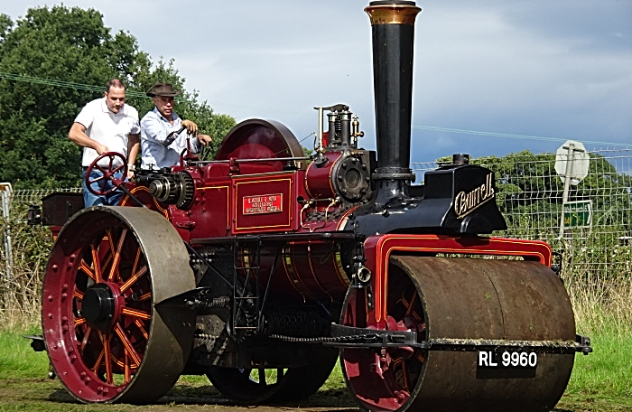 Yesteryear Steam engine demonstration (1)