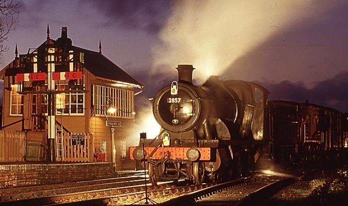Steam train programme by David Parker