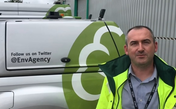 Stefan Stainsby, Environment Agency