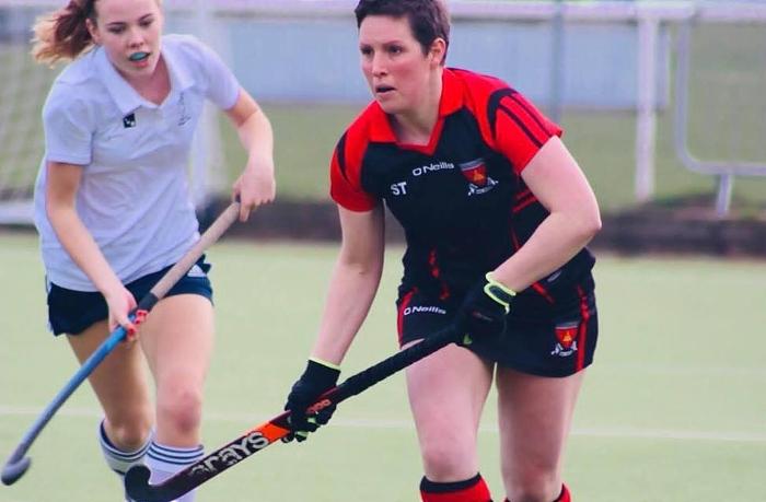 Steph Thompson - Crewe Vagrants ladies hockey