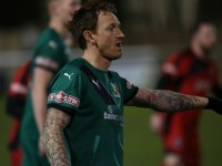 Nantwich Town progress in FA Cup after narrow win at Shepshed