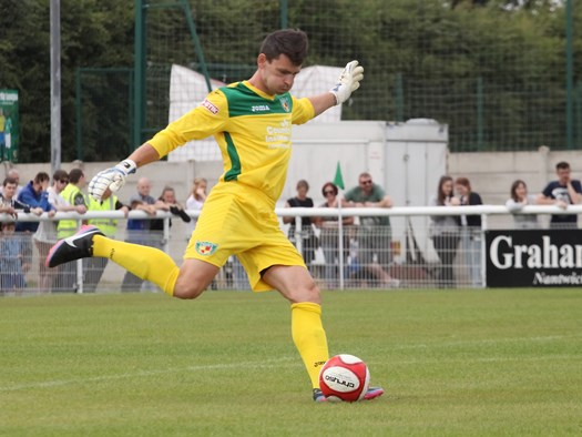 Steve Phillips, former Crewe Alex and new Nantwich Town keeper