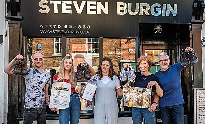 Steven Burgin - fundraising walk