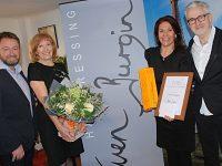 Nantwich hair salon celebrates record year of growth