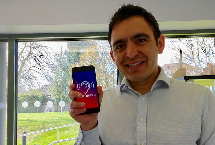 Steven Mifsud and deaf app