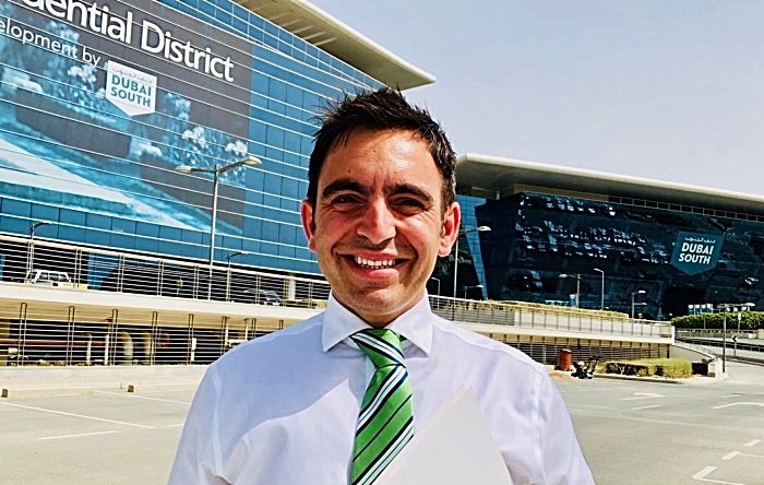 Steven Mifsud at new Dubai office (1)