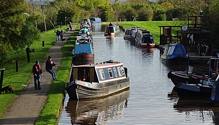 Stock photo - Shropshire Union Canal at Nantwich (1)
