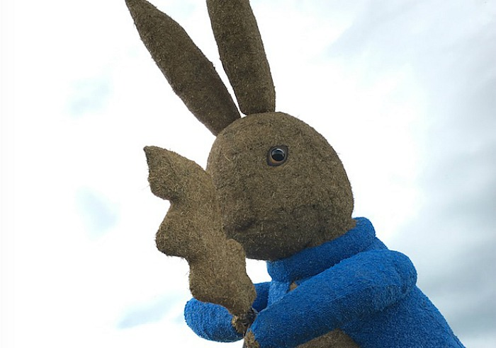 Straw Peter Rabbit snugburys