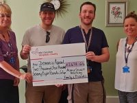 South Cheshire brothers walk 400 miles for Leighton Hospital dementia appeal
