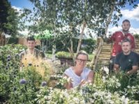 Talented Nantwich students' special needs garden finds Lake District home