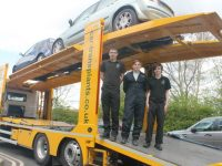 Nantwich firm Car Transplants donates vehicles for college students