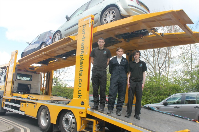 Students Geared Up With Car Transplants Donation