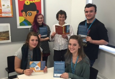 Nantwich poet inspires students ahead of Words & Music Festival