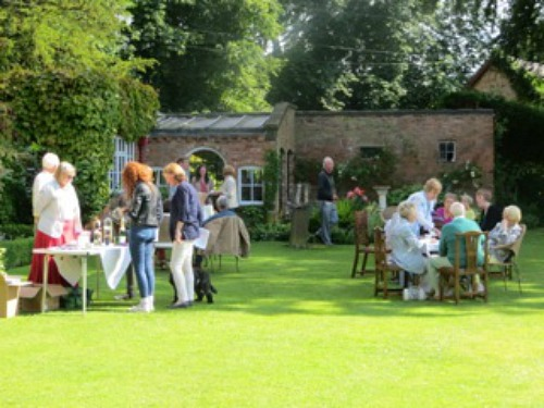 Summer sunshine at the Nantwich Museum Garden Party in 2014