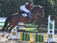 Nantwich showjumper wins at Derbyshire equestrian event