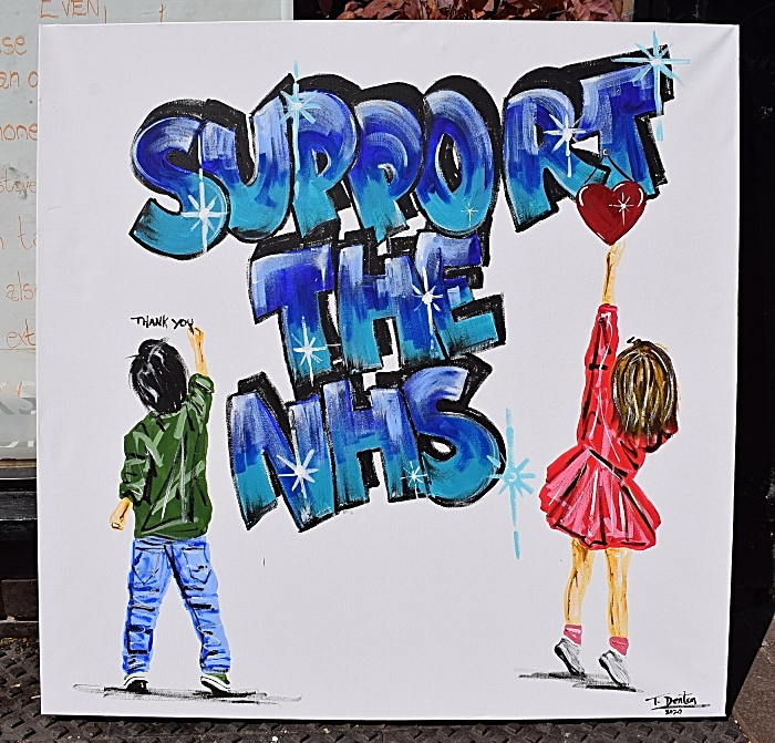 Support the NHS artwork purchased by Doug Thomson (1)