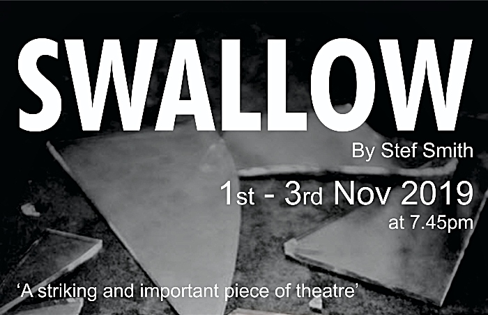 Swallow poster - Nantwich Players Studio