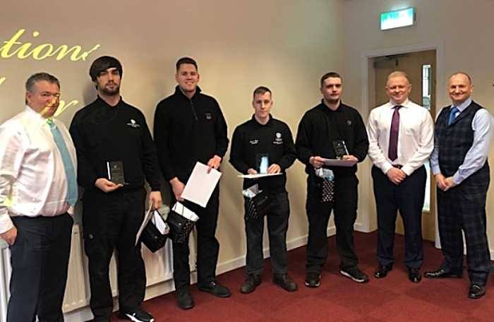 Swansway Group apprentices