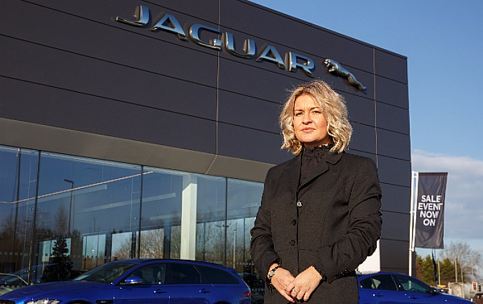 Swansway Jaguar in Crewe appoint Charlotte Heap