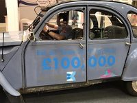 The Flintstones head for Nantwich in 2CV charity challenge
