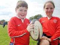 Nantwich and Crewe youngsters enjoy tag rugby festival