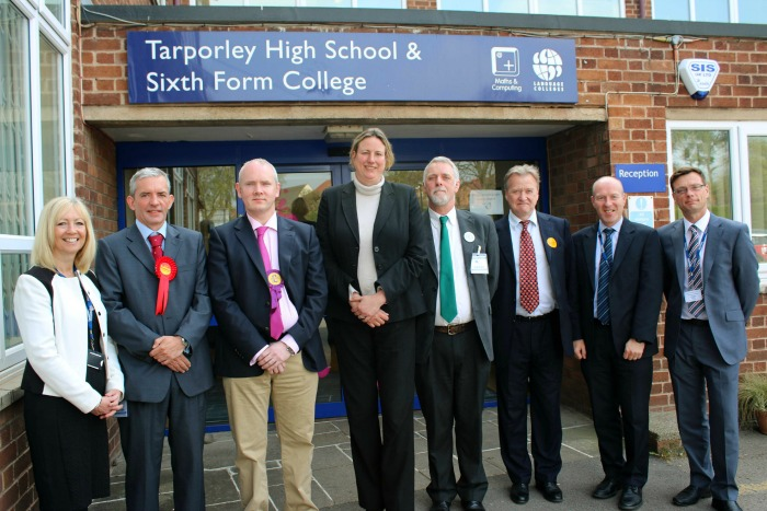 Tarporley High hosts political debate for Eddisbury candidates