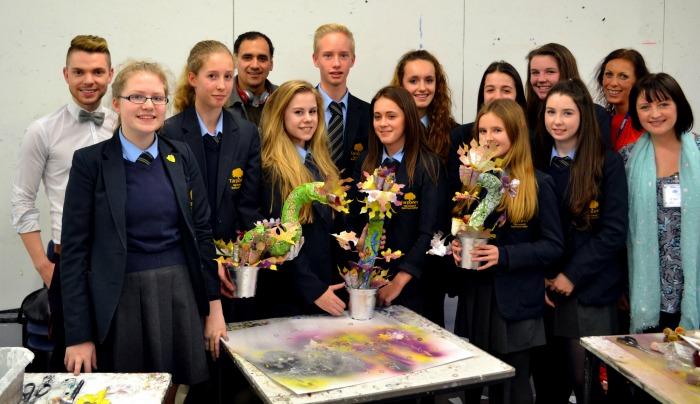 Tarporley School pupils work features at Royal Exchange Theatre