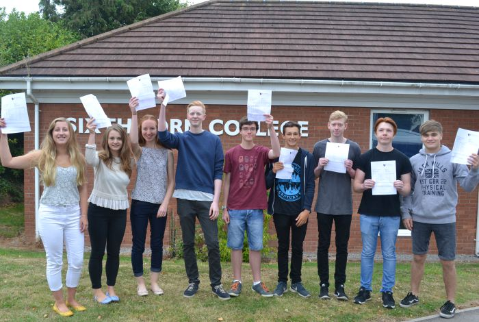 Tarporley Sixth Form A level results 2015