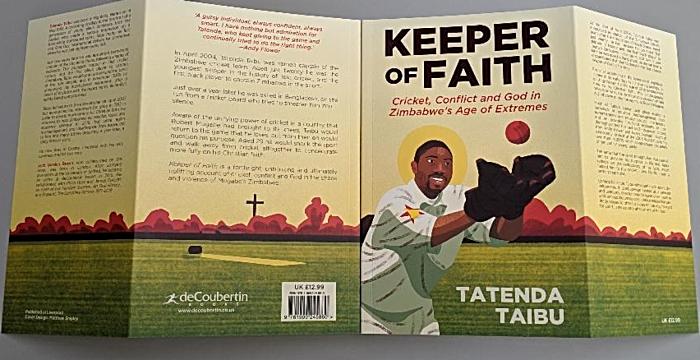Tatenda Taibu autobiography Keeper of Faith - cover 2 (1)