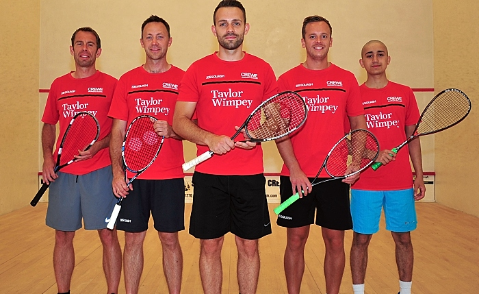 Taylor Wimpey has sponsored Crewe Vagrants Squash Club for the upcoming season (1)