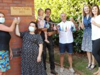 """Nantwich care home opens """"Taylor's Walk"""" in honour of couple"""