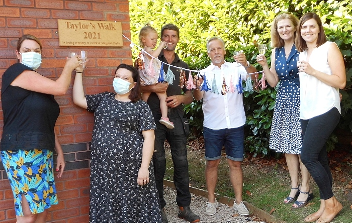 Taylor's Walk opens at care home