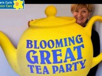 Building Society in Nantwich joins Marie Curie tea party event