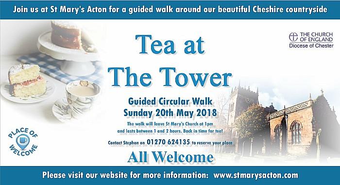 Tea at the Tower - guided circular walk