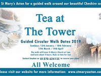 """Tea at the Tower"" Acton walks re-launch after 2018 success"
