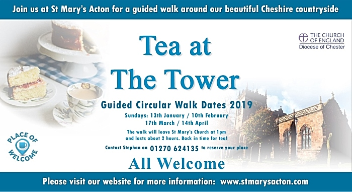 Tea at the Tower guided circular walks 2019 (1)