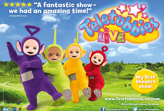 Teletubbies coming to Crewe Lyceum