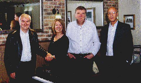 Terry James Quartet provides smooth finish for Nantwich coffee shop