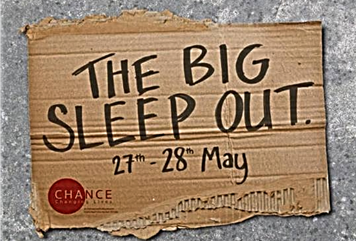 The Big Sleep Out in Nantwich