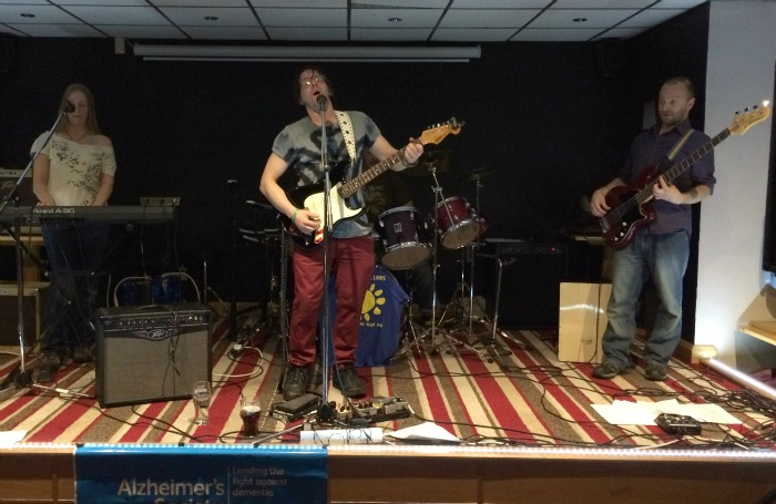 Willaston Social Club - The Blue Yellows perform at the concert