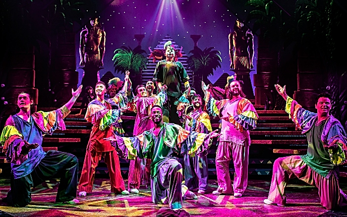 The Cast of Joseph & The Amazing Technicolor Dreamcoat - Pamela Raith Photography