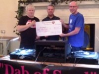 Nantwich-based The Cat donates £1,050 to Christies Cancer Charity